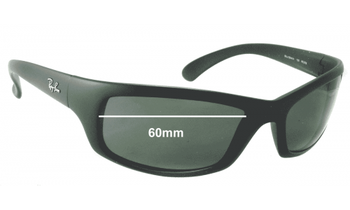 Sunglass Fix Sunglass Replacement Lenses for Ray Ban RAJ1554 - 60mm wide *Please measure your lens as size is not indicated on frames*