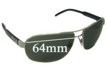 Sunglass Fix Sunglass Replacement Lenses for Ralph Lauren Polo 3053 - 64mm Wide