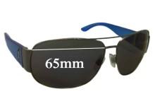 Sunglass Fix Sunglass Replacement Lenses for Ralph Lauren Polo 3063-A - 65mm Wide