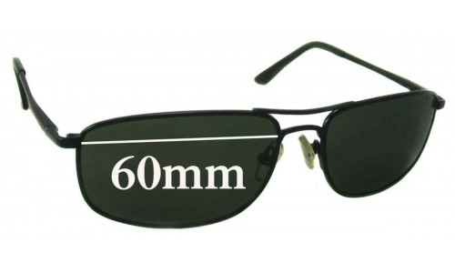 Sunglass Fix Sunglass Replacement Lenses for Ray Ban RB3147 59mm-60mm Wide