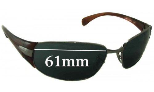 Sunglass Fix Sunglass Replacement Lenses for Ray Ban RB3275 - 61mm wide