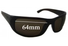 Sunglass Fix Sunglass Replacement Lenses for Ray Ban RB4176 - 64mm Wide