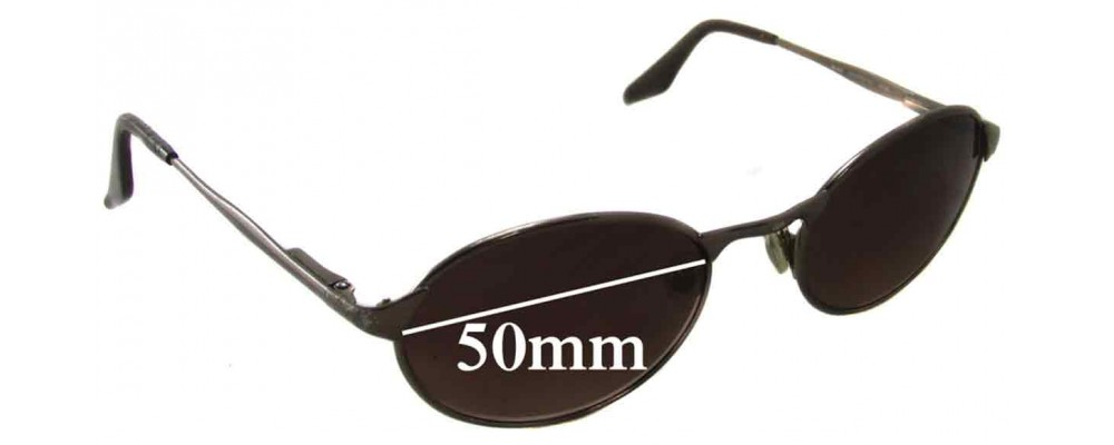 Sunglass Fix Sunglass Replacement Lenses for Ray Ban RB3002 Highstreet - 50mm Wide