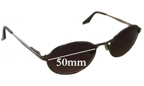 Sunglass Fix Sunglass Replacement Lenses for Ray Ban Highstreet Mo RB3002 - 50mm wide