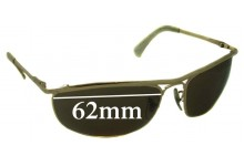 Sunglass Fix Sunglass Replacement Lenses for Ray Ban RB3119 - 62mm Wide