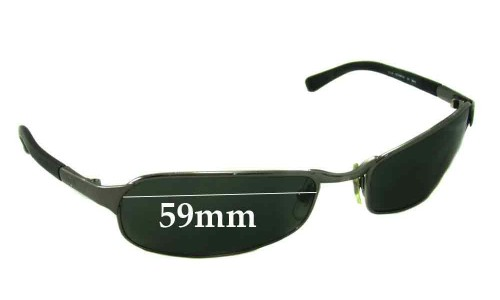 Sunglass Fix Sunglass Replacement Lenses for Ray Ban RB3149 - 59mm Wide