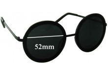 Sunglass Fix Sunglass Replacement Lenses for Rorgge 7778 - 52mm Wide