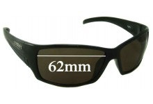 Sunglass Fix Sunglass Replacement Lenses for Spotters Fury - 62mm Wide