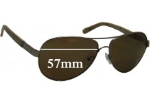 Sunglass Fix Sunglass Replacement Lenses for Tory Burch TY6010 - 57mm Wide