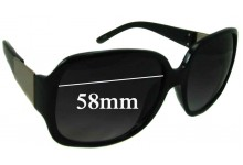 Sunglass Fix Sunglass Replacement Lenses for Unknown 1300493 - 58mm Wide