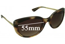 Sunglass Fix Sunglass Replacement Lenses for Vogue VO2731-S - 55mm Wide