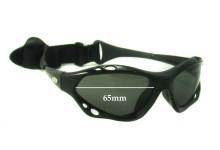 Sunglass Fix Sunglass Replacement Lenses for WaveShields - 65mm Wide