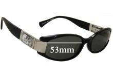 Sunglass Fix Sunglass Replacement Lenses for Alex Perry AP Sun Rx 17 - 53mm Wide