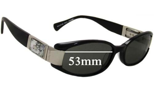 Sunglass Fix Sunglass Replacement Lenses for Alex Perry AP17 - 53mm Wide