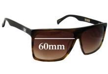 Sunglass Fix Sunglass Replacement Lenses for AM Eyewear Cobsey - 60mm Wide