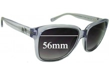 Sunglass Fix Sunglass Replacement Lenses for Armani Exchange AX 4002 - 56mm Wide