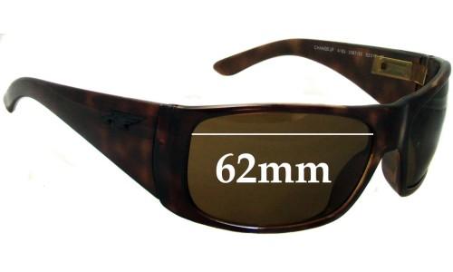 Sunglass Fix Sunglass Replacement Lenses for Arnette Change Up AN4183 - 62mm Wide