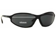 Sunglass Fix Sunglass Replacement Lenses for Arnette AN3041 - 64mm Wide