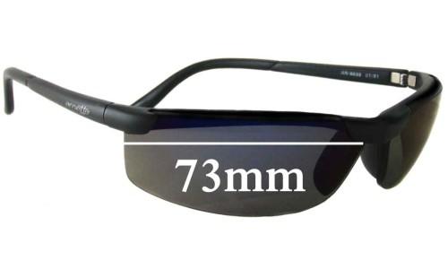 Sunglass Fix Sunglass Replacement Lenses for Arnette AN4039 - 73mm wide