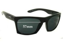 Sunglass Fix Sunglass Replacement Lenses for Arnette Dibs AN4169 - 57mm Wide