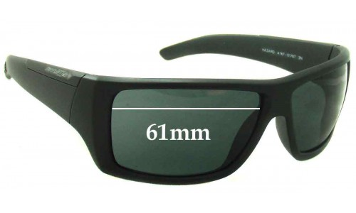 Sunglass Fix Sunglass Replacement Lenses for Arnette Hazard AN4167 - 61mm Wide