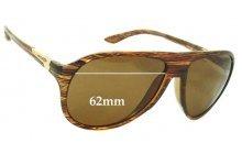 Sunglass Fix Sunglass Replacement Lenses for Arnette  High Life AN4134 - 62mm Wide
