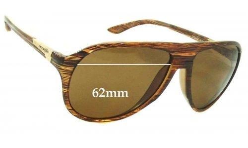 Sunglass Fix Sunglass Replacement Lenses for Arnette Highlife AN4134 - 62mm Wide