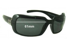 Sunglass Fix Sunglass Replacement Lenses for Arnette Infamous II AN4112 - 61 mm Wide