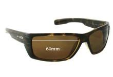 Sunglass Fix Sunglass Replacement Lenses for Arnette Peril AN4131 - 64mm Wide