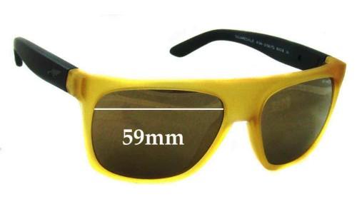 Sunglass Fix Sunglass Replacement Lenses for Arnette Squaresville AN4184 - 59mm Wide