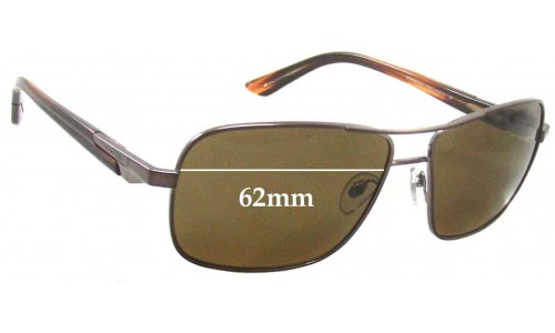 Sunglass Fix Sunglass Replacement Lenses for Arnette Stakeout AN3062 - 62mm Wide