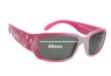 Sunglass Fix Sunglass Replacement Lenses for Matel Barbie 2008 - 49mm Wide