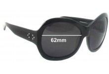 Sunglass Fix Sunglass Replacement Lenses for Blinde Rollercoaster - 62mm Wide