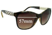 Sunglass Fix Sunglass Replacement Lenses for Bvlgari 8104 - 57mm Wide