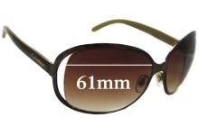 Sunglass Fix Sunglass Replacement Lenses for Calvin Klein R334S - 61mm Wide