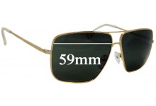 Sunglass Fix Sunglass Replacement Lenses for Celine CL 41488/S - 59mm Wide