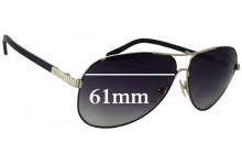 Sunglass Fix Sunglass Replacement Lenses for Chloe CE 120S - 61mm Wide