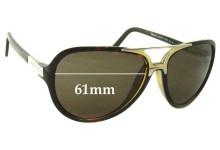 Sunglass Fix Sunglass Replacement Lenses for Dolce & Gabbana DG6044 - 61mm Wide