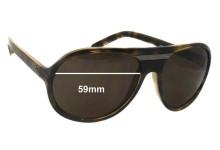 Sunglass Fix Sunglass Replacement Lenses for Dolce & Gabbana DG8073 - 59mm Wide