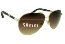 Sunglass Fix Sunglass Replacement Lenses for Dolce & Gabbana DG2115 - 58mm Wide