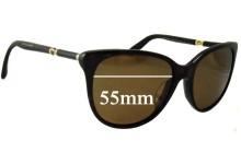 Sunglass Fix Sunglass Replacement Lenses for Dolce & Gabbana DG4156A - 55mm Wide