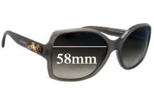 Sunglass Fix Sunglass Replacement Lenses for Dolce & Gabbana DG4168 - 58mm Wide