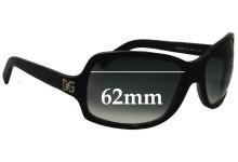 Sunglass Fix Sunglass Replacement Lenses for Dolce & Gabbana DG648S - 62mm Wide
