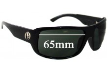 Sunglass Fix Sunglass Replacement Lenses for Electric KW - 65mm Wide