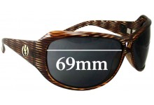Sunglass Fix Sunglass Replacement Lenses for Electric Spectre - 69mm wide