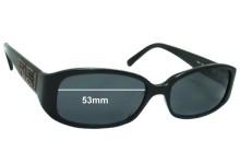 Sunglass Fix Sunglass Replacement Lenses for Fendi FS 808 - 53mm Wide