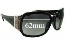 Sunglass Fix Sunglass Replacement Lenses for Fendi FS 462 - 62mm Wide