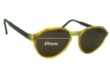 Sunglass Fix Sunglass Replacement Lenses for Fila Unknown Model - 49mm Wide