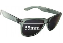 Sunglass Fix Sunglass Replacement Lenses for Fyve Carlton Dry - 55mm Wide