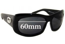Sunglass Fix Sunglass Replacement Lenses for Gucci GG 2971/S - 60mm Wide